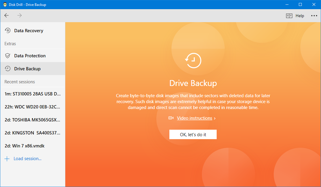 restore deleted photos via backup