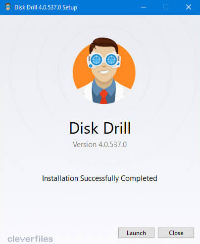 install disk drill for windows