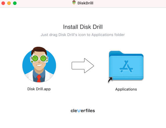 installation of disk drill for mac