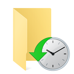 file history icon windows 8