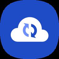 icono de la nube de Samsung