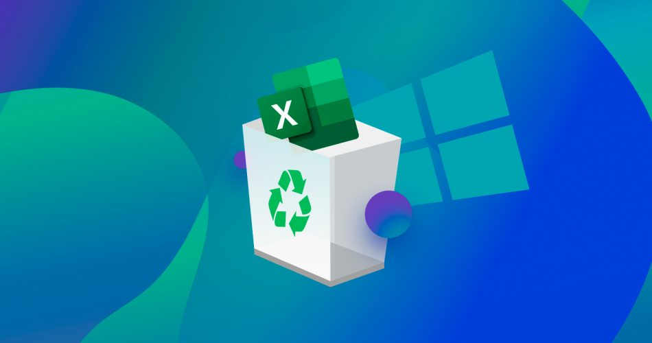 Recover an Unsaved or Deleted Excel File on Windows 10