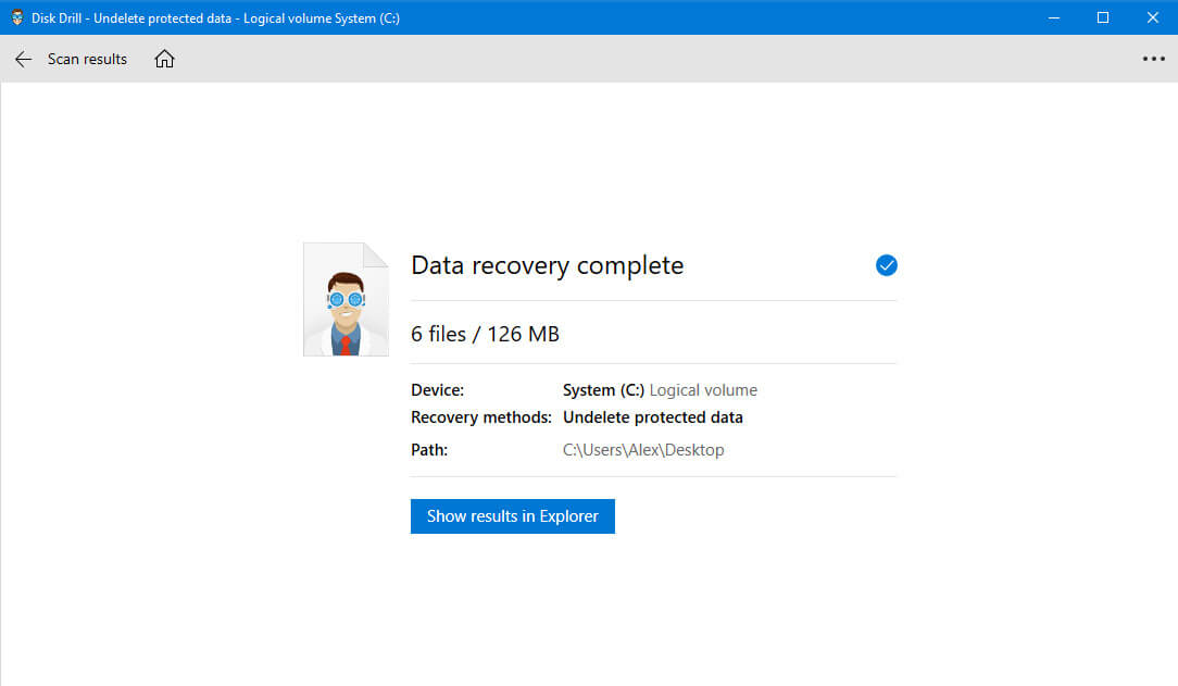 recover archive file in disk drill