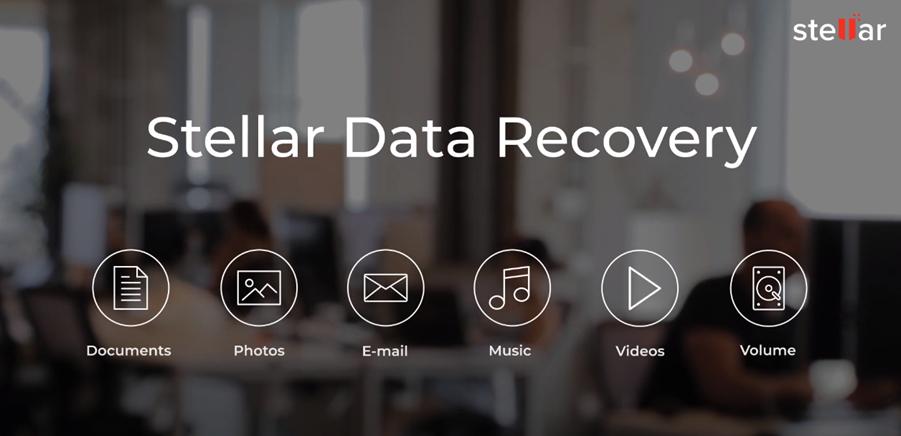 cabeçalho de recuperação de dados stellar