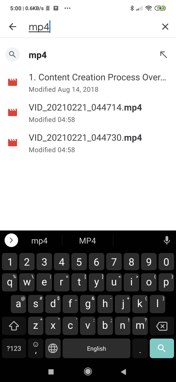 cómo recuperar vídeos borrados