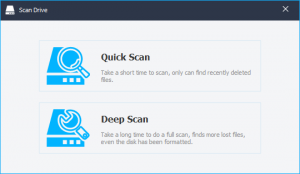 types of scans